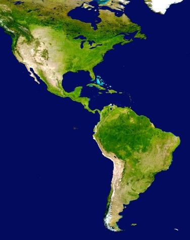Americas_satellite_map