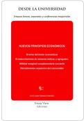 NUEVOS PRINCIPIOS ECONOMICOS